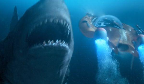 The Meg versus submersible