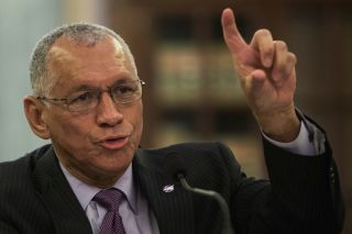 Bolden at Senate Subcommittee on Space, Science, and Competitiveness Hearing