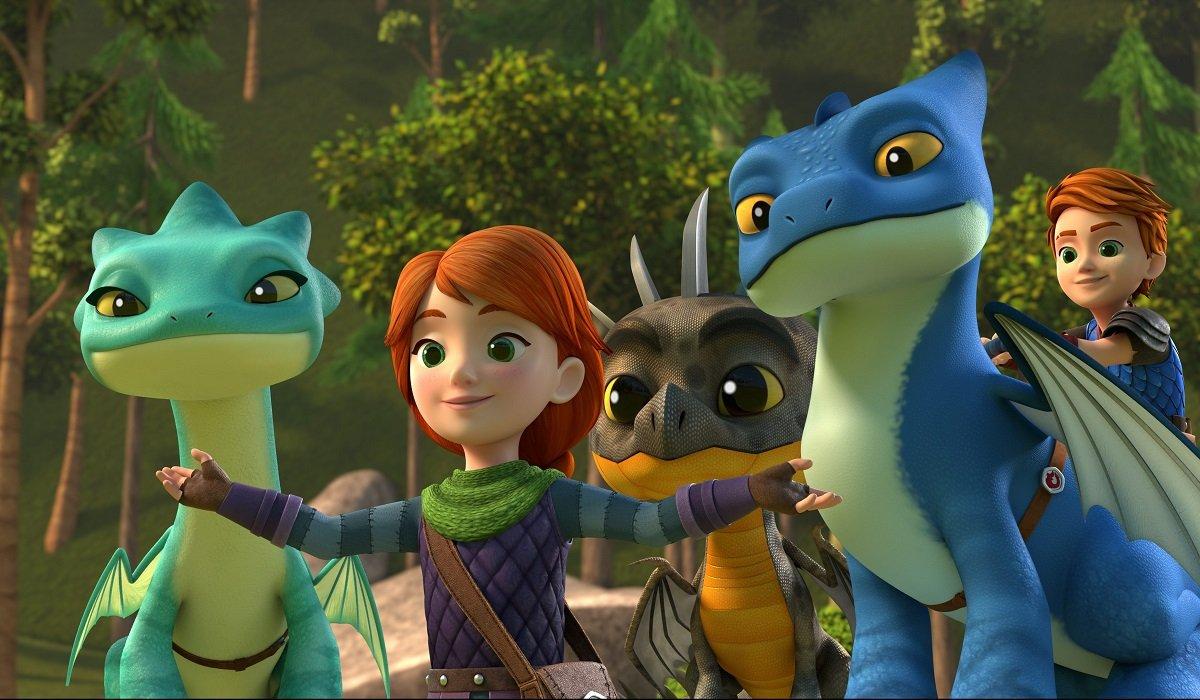Dragons: Rescue Riders Netflix