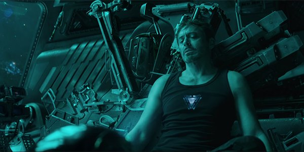 Tony In The Endgame trailer