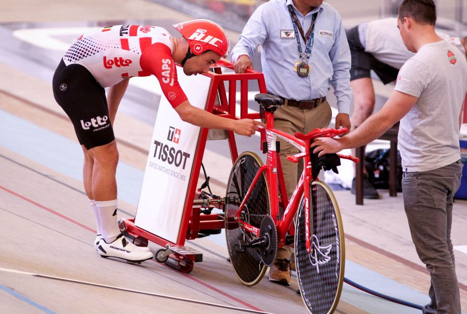 Victor Campenaerts' Hour Record breaking tech