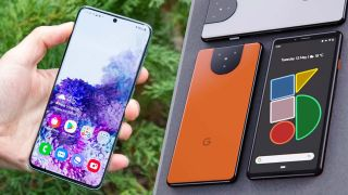 Google Pixel 5 vs. Samsung Galaxy S20