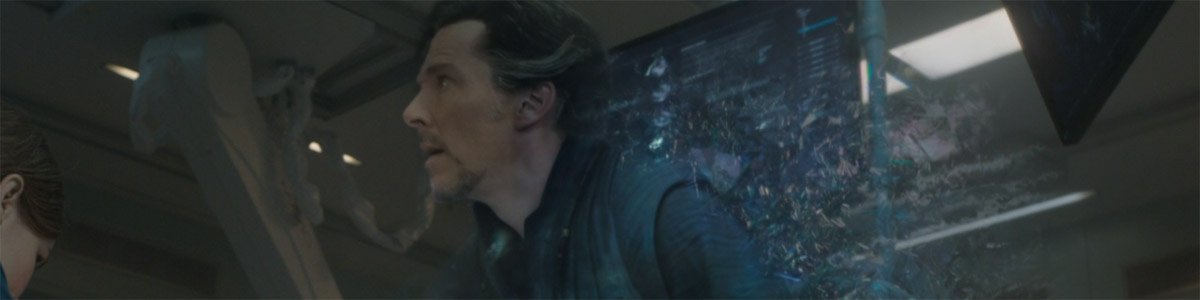 Doctor Strange (Benedict Cumberbatch) astral projects in Doctor Strange