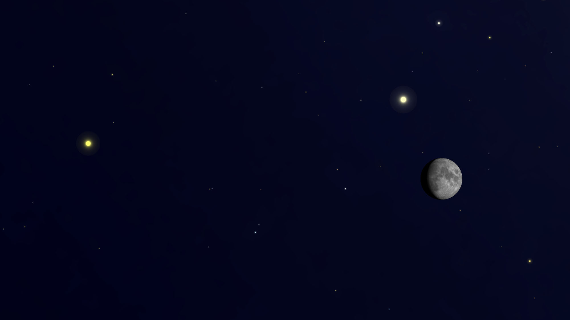 See Jupiter and Saturn with the moon this weekend   Space