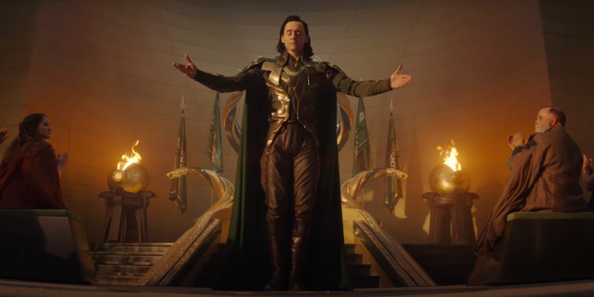 tom hiddleston's loki in asgard on disney+'s loki