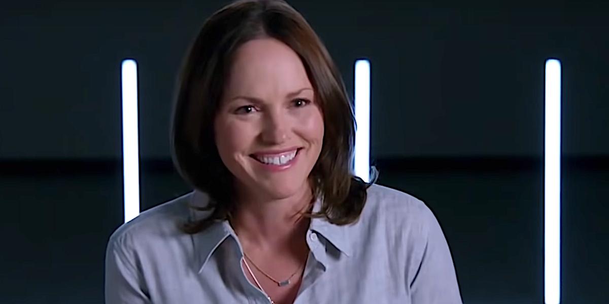Jorja Fox as Sara Sidle in CSI: Vegas trailer