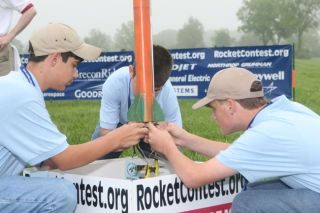 Teen Rocket Scientists Go For Launch in Huge Contest