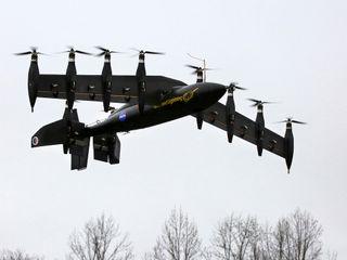 NASA Greased Lightning Drone