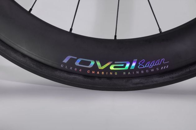 f10b38e7009 The S-Works logo is a neat reflective rainbow colour that pops from the  frame.