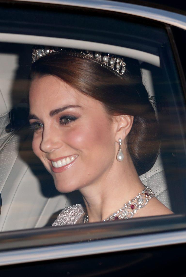 Duchess of Cambridge Spanish state banquet