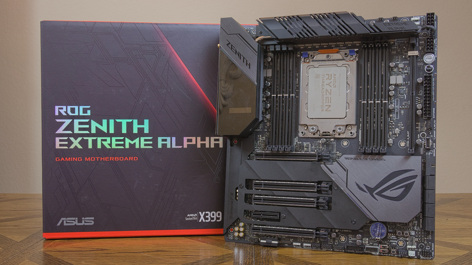 Asus Rog Zenith Extreme Alpha Review An X399 Thoroughbred Tom S Hardware Tom S Hardware