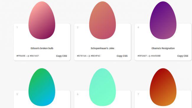 eggradients screen shot