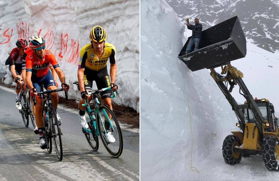 Gavia climb likely to be removed due to 'significant risk of avalanches' on queen stage of Giro d'Italia 2019