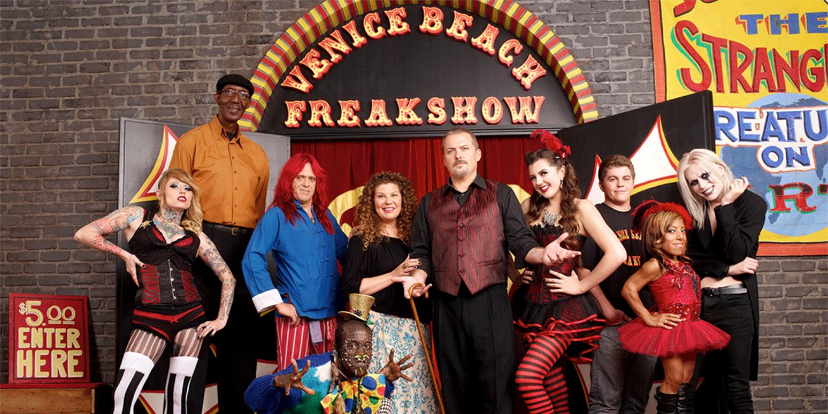 The cast of Freakshow