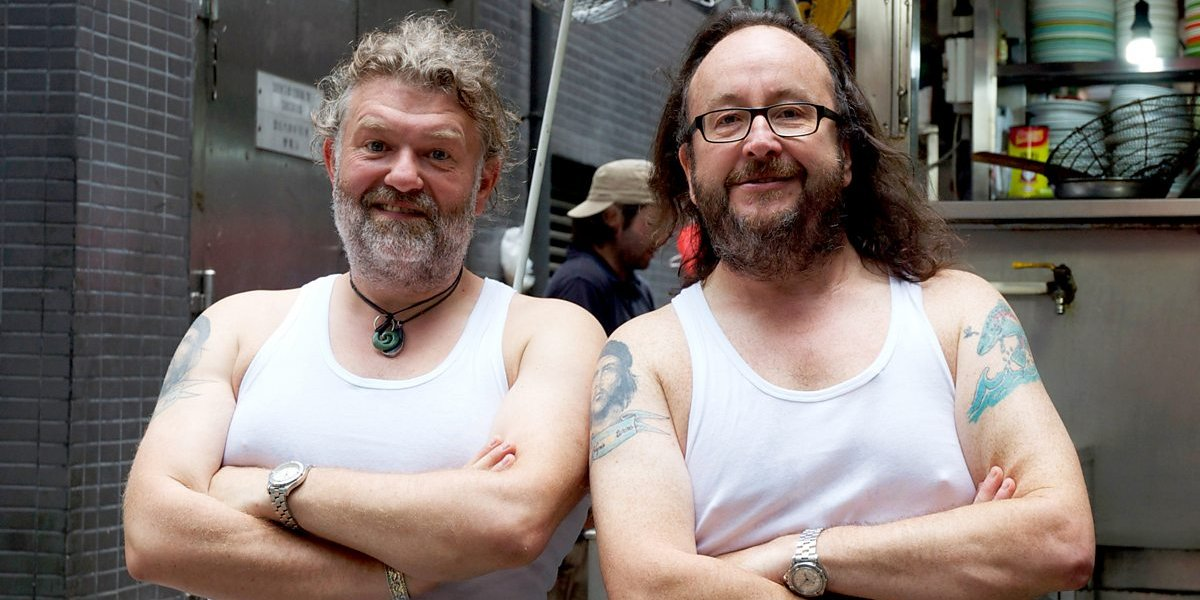 David Myers and Si King on The Hairy Bikers' Asian Adventure