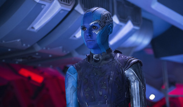 Nebula in Guardians of the Galaxy 2