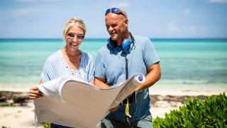 Sarah and Bryan Baeumler in HGTV's 'Renovation Island'