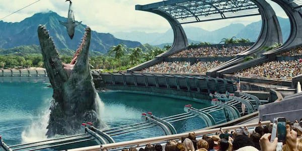 Jurassic World theme park