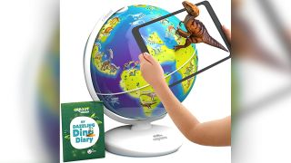 Dinosaurs augmented reality globe on Prime Day