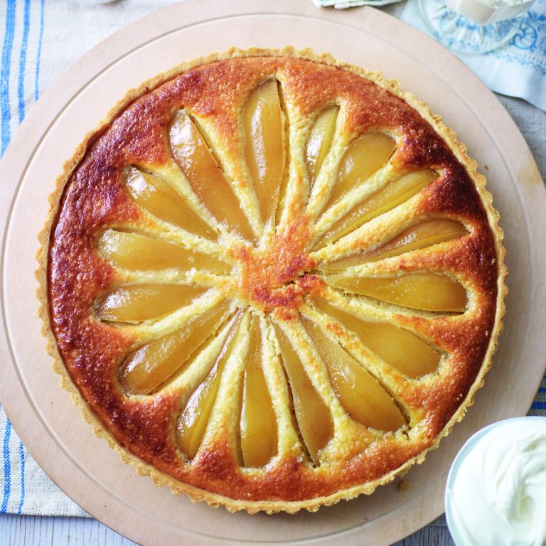 Pear and Almond Tart recipe--dessert recipes-recipes-recipe ideas-new recipes-woman and home