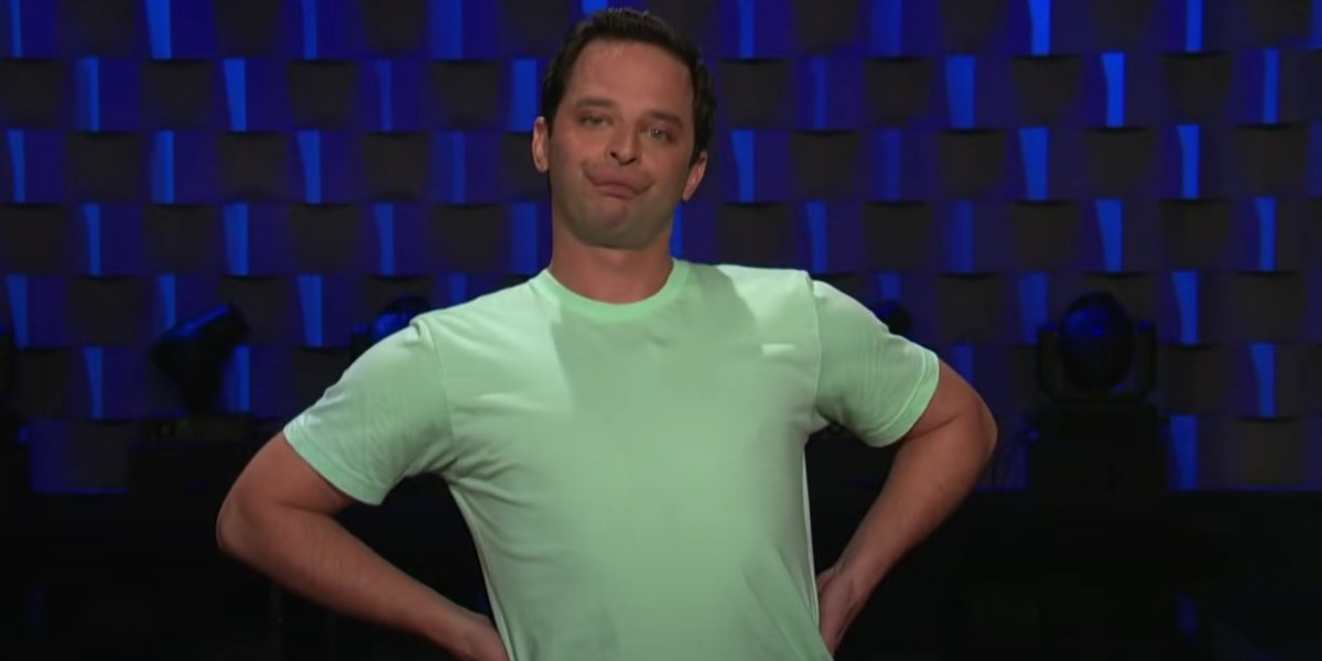 Nick Kroll during his Saturday Night Live audition