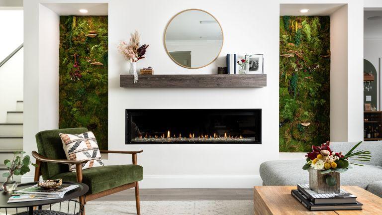 Minimal living room, Hayley Orrantia, The Goldbergs star