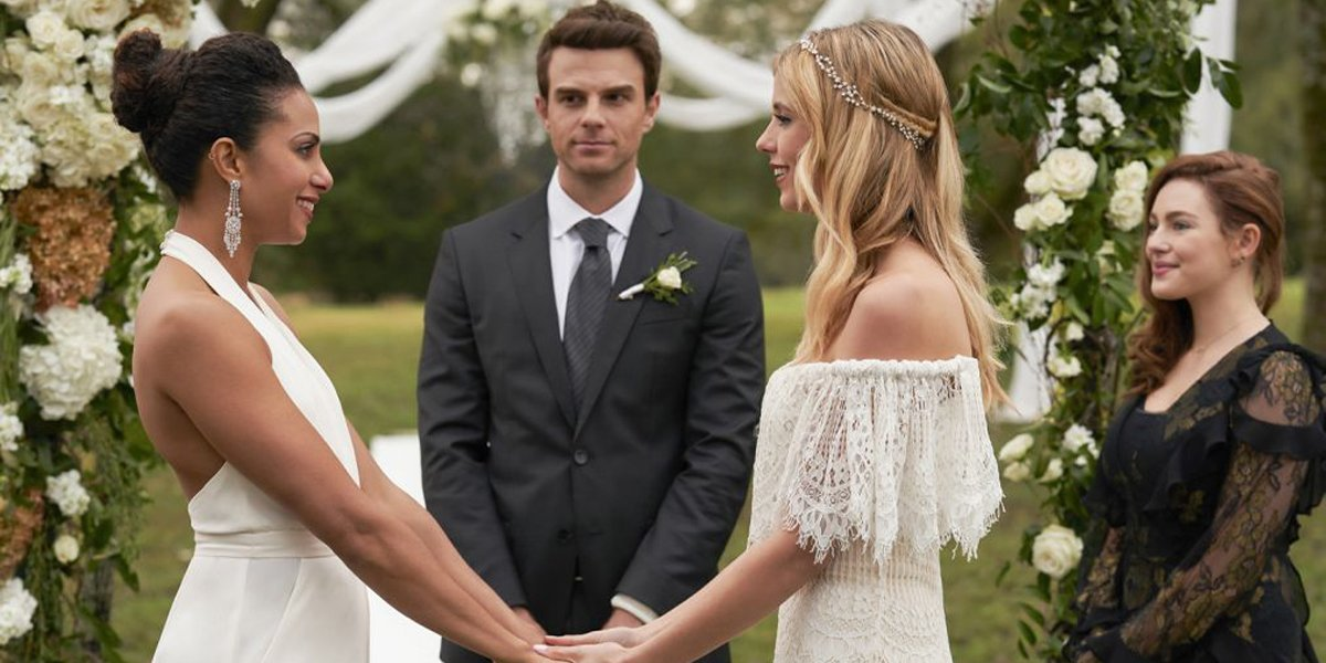 The Originals Keelin and Freya Freelin wedding The CW
