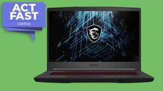 MSI GF65 Thin RTX 3060 gaming laptop bundle deal slashes $75 off