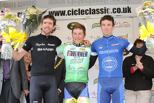 Michael Berling wins, East Midlands CiCLE Classic 2010