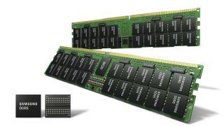 Renderöidyt kuvat Samsungin DDR5 RAM-muistista