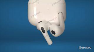 AirPods 3 leak design