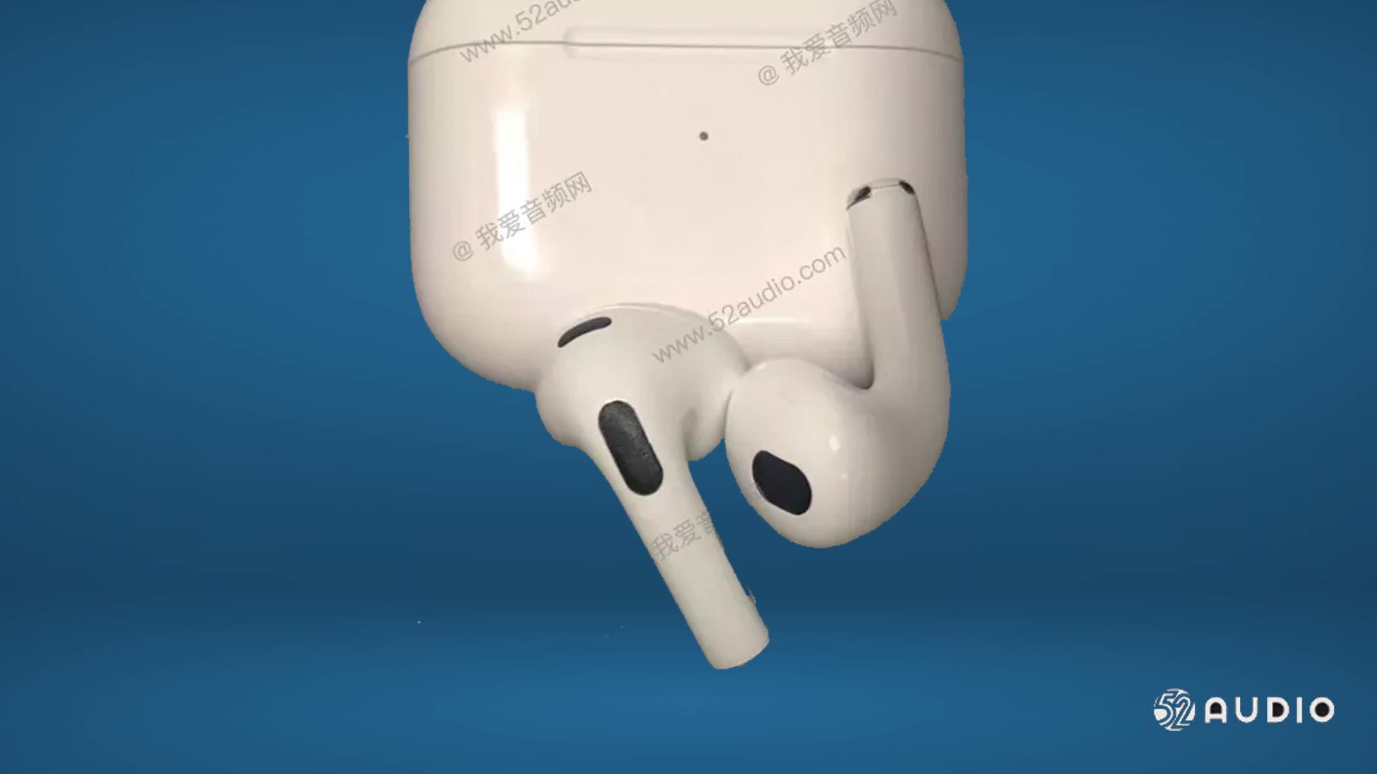 Evento Apple di aprile: perdita di design di AirPods 3