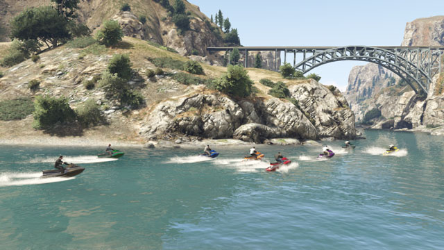 GTA 5 Online Multiplayer Launches Today #29111