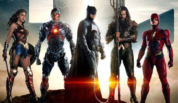 Justice League team assembled