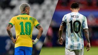 Brasilien och Argentina möts i finalen av Copa America 2021