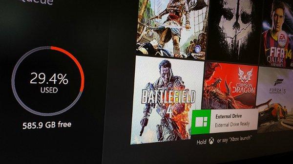 Xbox One External Storage