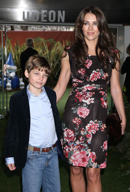 Liz Hurley's son Damian appears in Neighbours