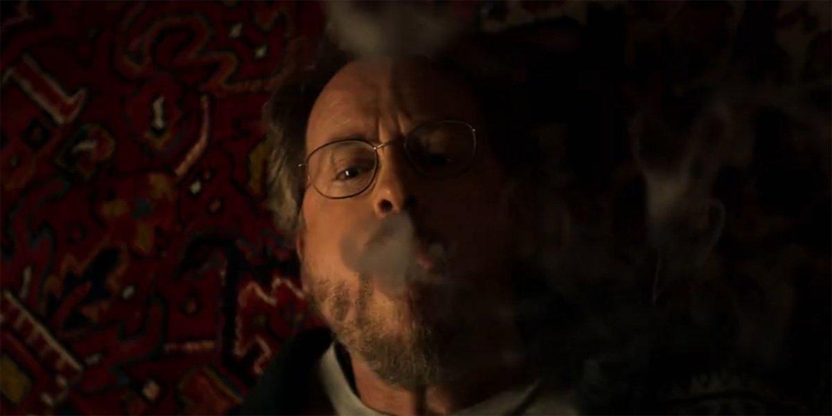 Glen Bateman smoking pot in The Stand