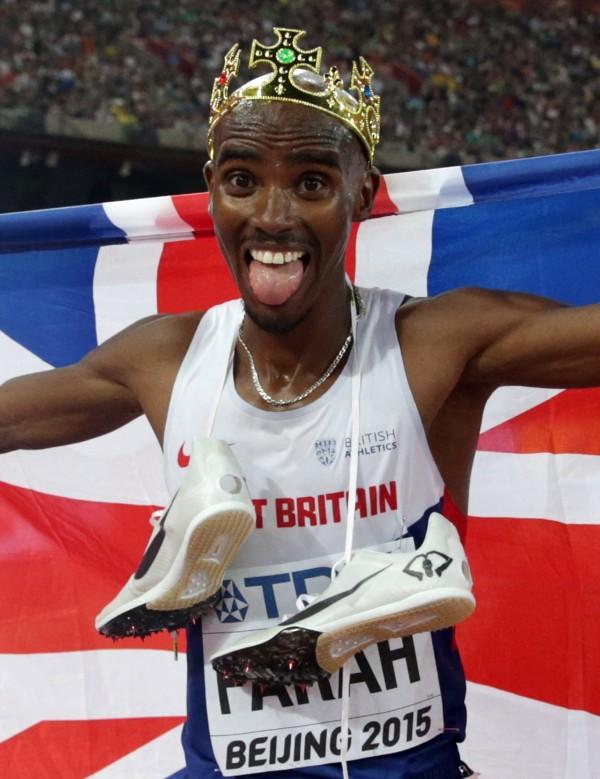 Britain's Mo Farah