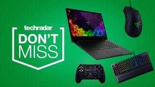 Razer gaming deals cheap gaming keyboard mouse controller laptop