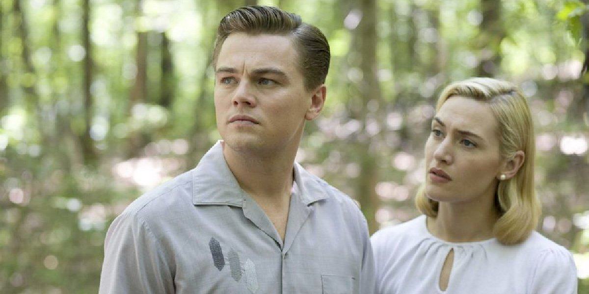 Kate Winslet alongside Leonardo DiCaprio in Revolutionary Road.