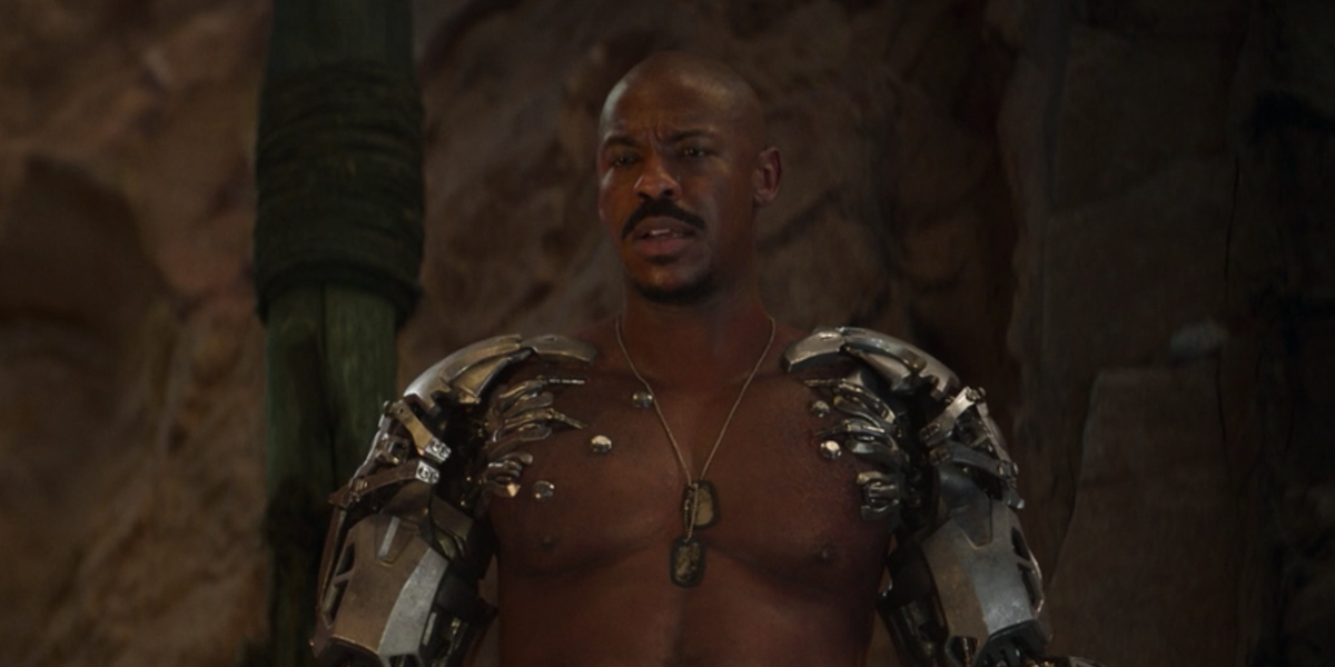 Mortal Kombat's Mehcad Brooks Confirms Those Jax Gains Are Real In Shredded Post (Plus How He Did It)