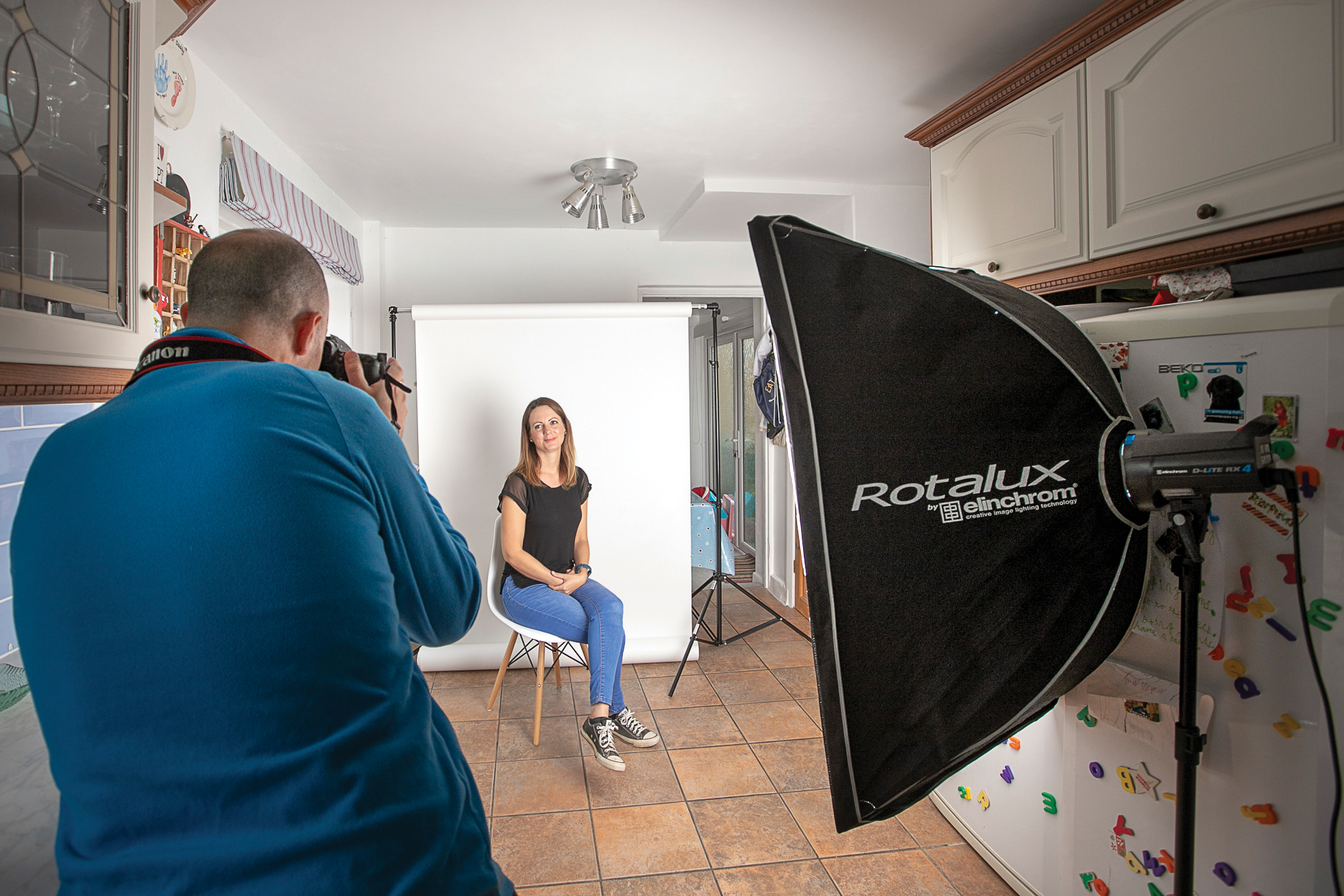 Commercial headshot tips: professional portrait photography with a single light | Digital Camera World