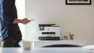 An HP printer