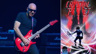 Joe Satriani performing live