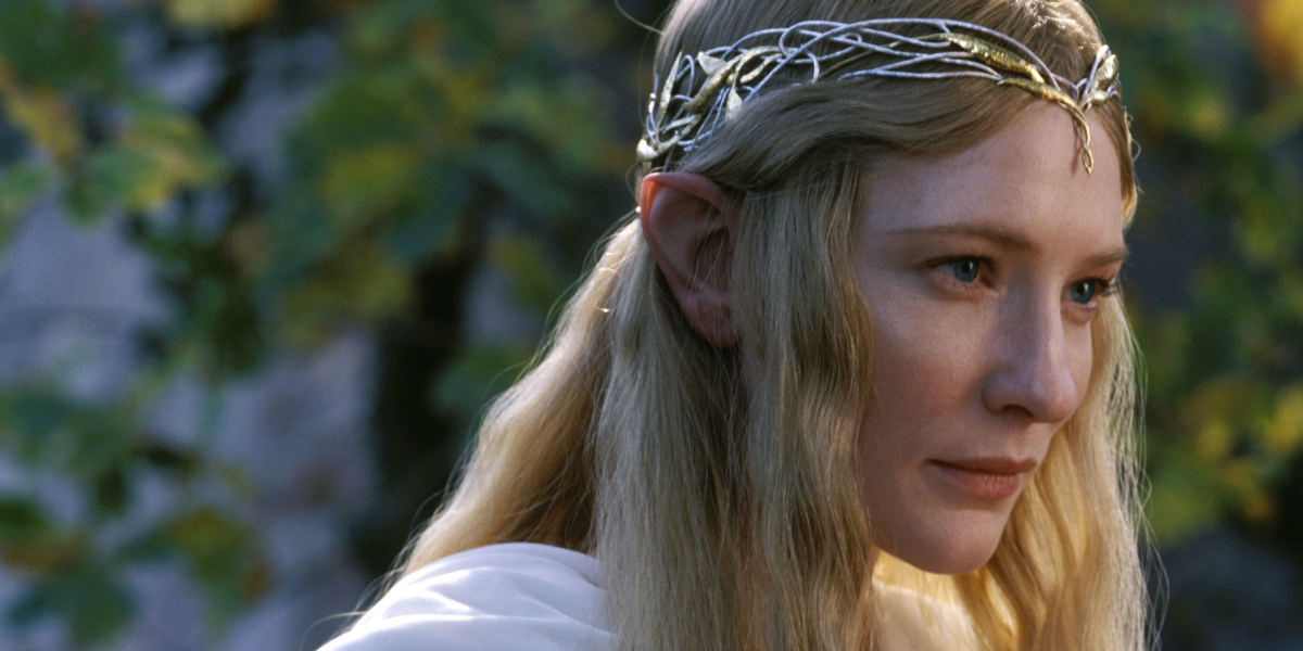 Lord of the Rings The Fellowship of the Rings Cate Blanchett Galadriel