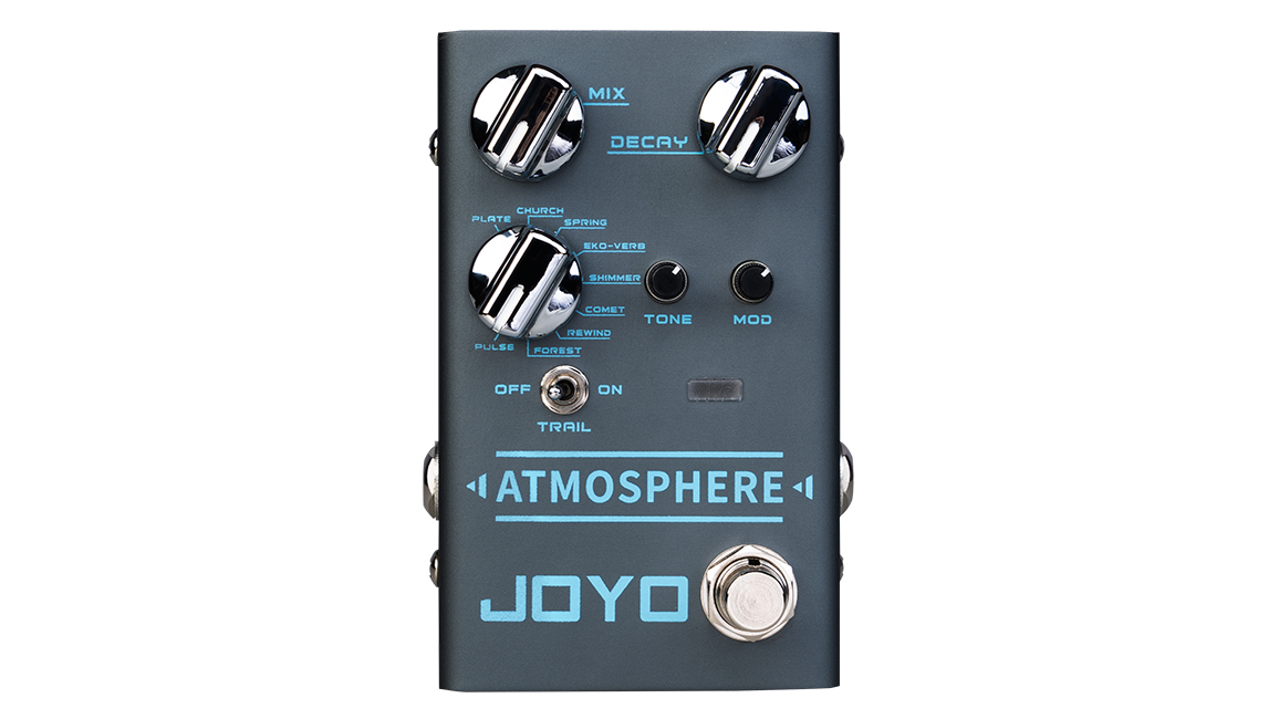 Joyo's Atmosphere reverb features Shimmer, Comet and, erm, Forest settings | Guitarworld