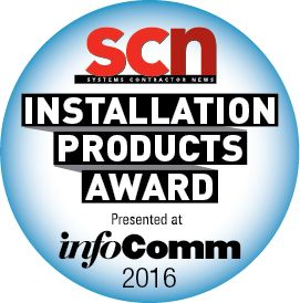 2016 SCN/InfoComm Product Installation Awards Finalist Voting Opens