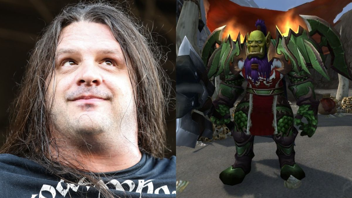 Corpsegrinder's World Of Warcraft character has been cancelled