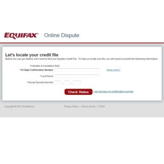 Best option for equifax dispute